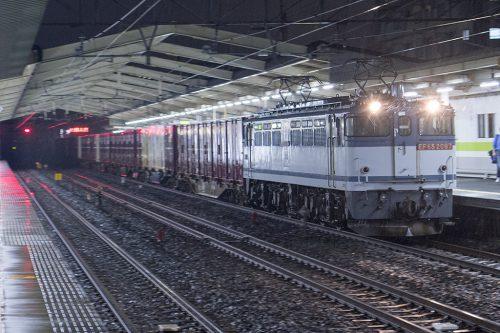EF65-2097 79レ 南流山駅