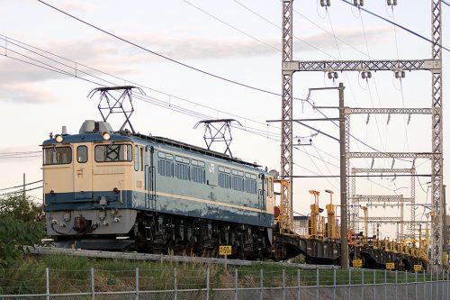EF65-1104 東大宮工臨