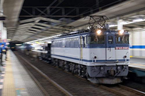 EF65-2085 5971レ 南越谷駅