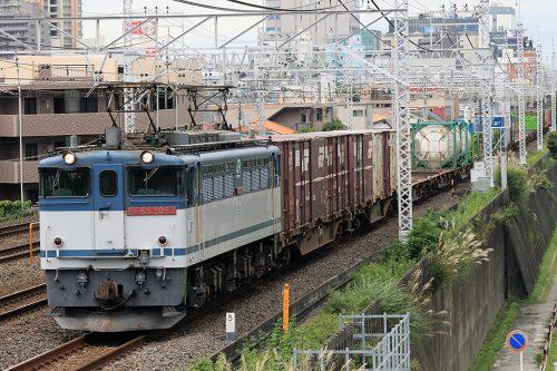EF65-2087 1091レ 船橋~東船橋間