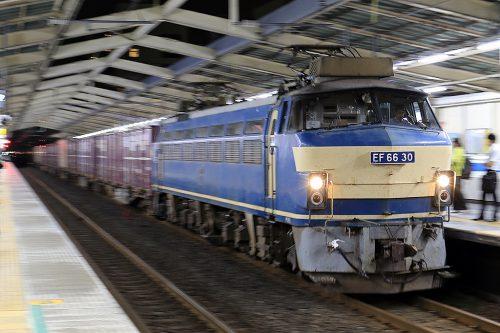EF66-30 5061レ 南越谷