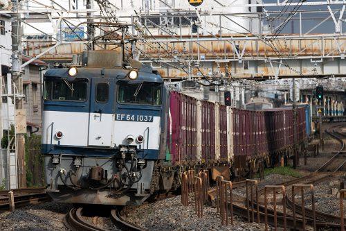 EF64-1037 1094レ 船橋~西船橋間
