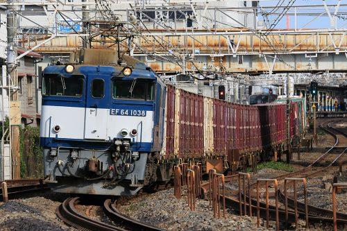 EF64-1038 1094レ 船橋~西船橋間