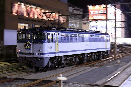 EF65-2095 入換 新小岩駅