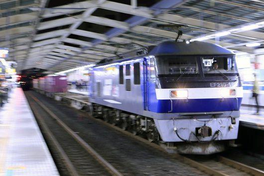 1067レ 南越谷駅