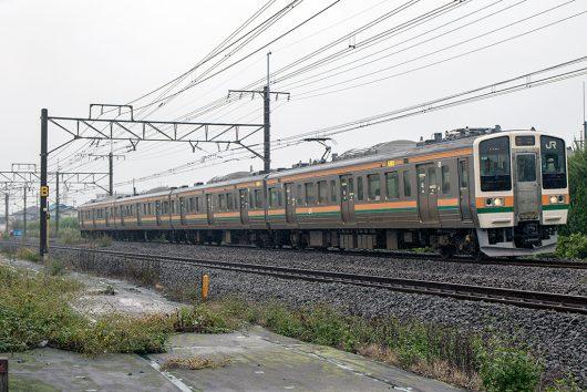 211系4両 441M 井野~新前橋間