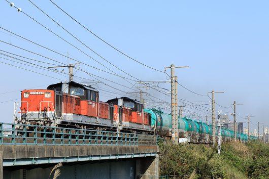 DD51-892 8079レ 弥富~長島間