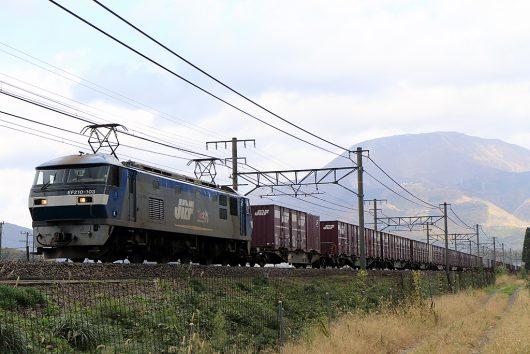 EF210-103 5071レ 近江長岡~醒ヶ井間