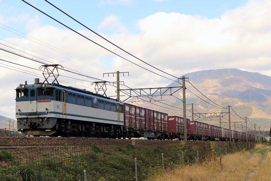 EF65-2084 5087レ 近江長岡~醒ヶ井間