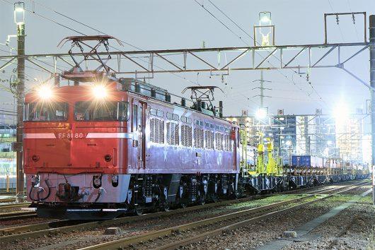 EF81-80工9481レ 新小岩(信)