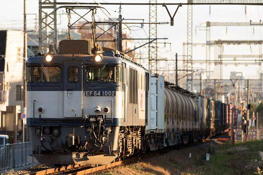 EF64-1002 1094レ 新小岩(信)~金町間