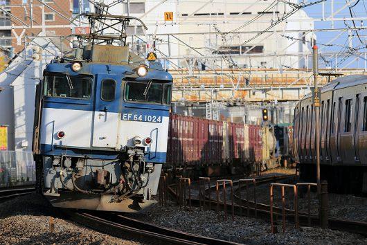 EF64-1024 1094レ 船橋~西船橋間
