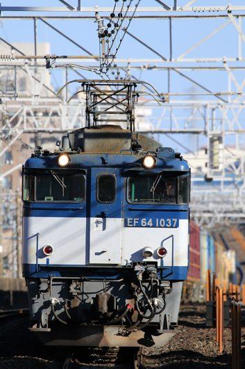 EF64-1037 1094レ 船橋駅