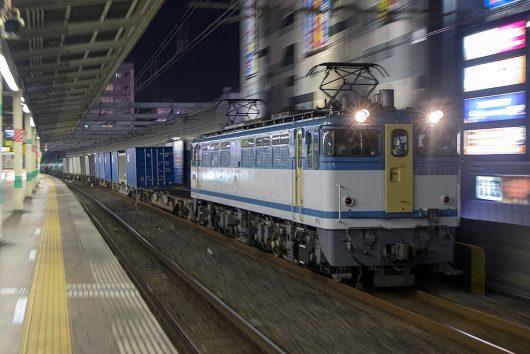 EF65-2127 5971レ 市川駅