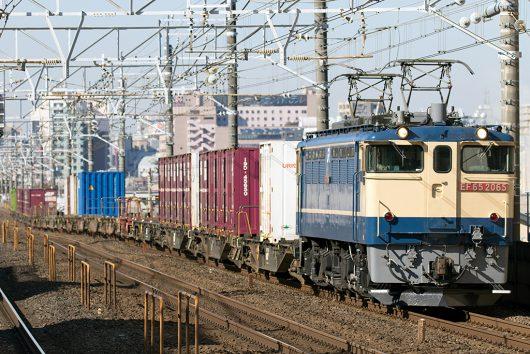 EF65-2065 1091レ 本八幡駅