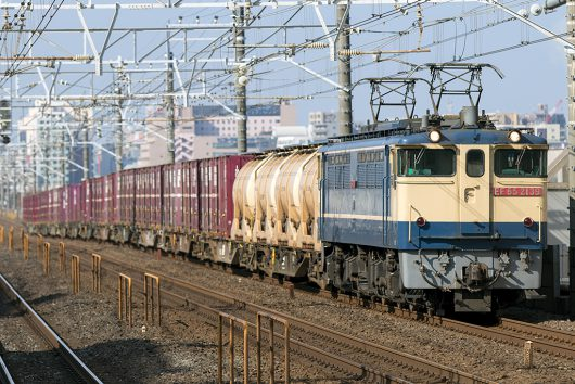 EF65-2139 1093レ 本八幡駅