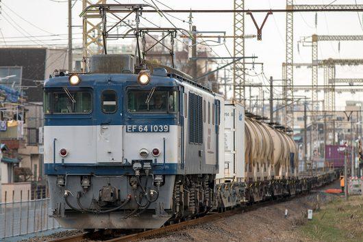 EF64-1039 東京街道踏切