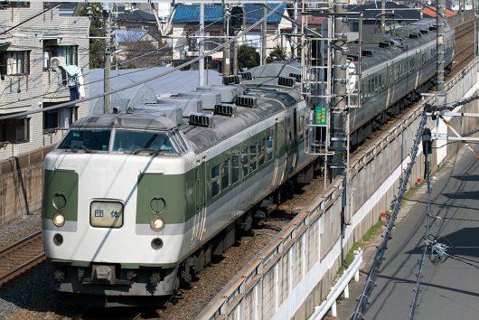 189系TDR臨 9767M 船橋法典~西船橋間