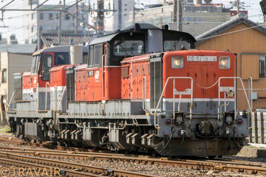 DD51-1804単レ 四日市~富田浜間