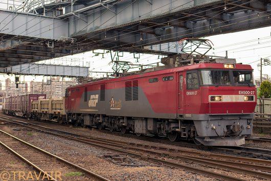 EH500-27 3054レ 隅田川駅
