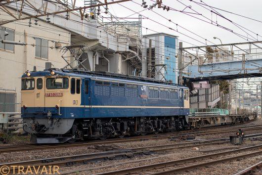 配8592レ 隅田川駅