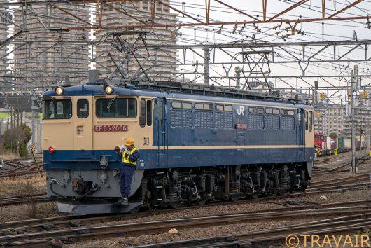 EF65-2066 入換 隅田川駅
