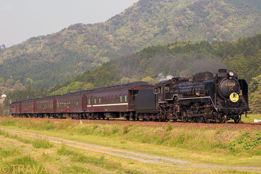 D51-200 SLやまぐち 8522レ 三谷~渡川間