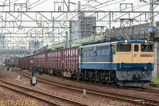 EF65-2066 1093レ 金町~新小岩(信)間