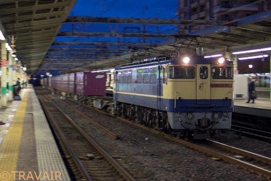 EF65-21391092レ 市川駅