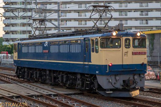 EF65-2065 入換 新小岩駅