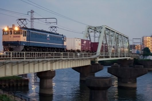 EF65-2074 1091レ 新小岩(信)~金町間