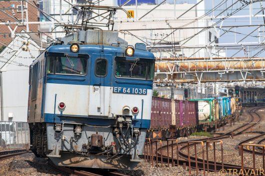 EF64-1036 1094レ 船橋~西船橋間