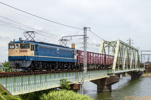 EF65-2070 1091レ 金町~新小岩(信)間
