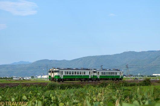 キハ40 430D 会津高田~会津本郷
