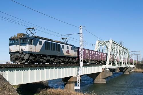 EF64-1045中川橋梁