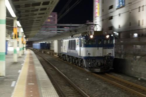 2015.2.27 22:30撮影 5971レ 市川駅