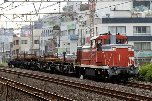 2015.7.24 16:13撮影 工7282レ 平井駅