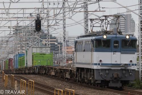 2015.7.18 11:26撮影 1091レ 小岩駅