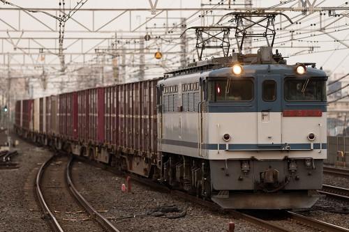 2015.7.24 18:29撮影 1090レ 市川駅