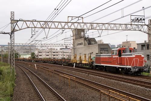 2015.8.28 16:13撮影 工7282レ 平井駅