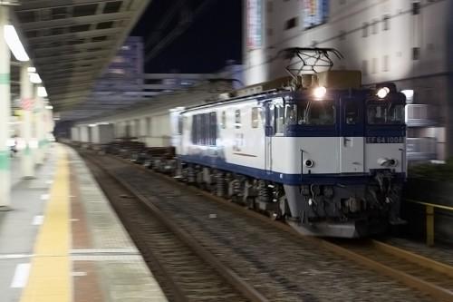 2015.9.28 22:30撮影 5971レ 市川駅