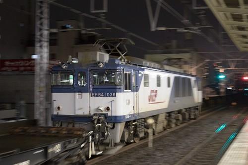 2015.9.17 22:30撮影 5971レ(後追い) 市川駅