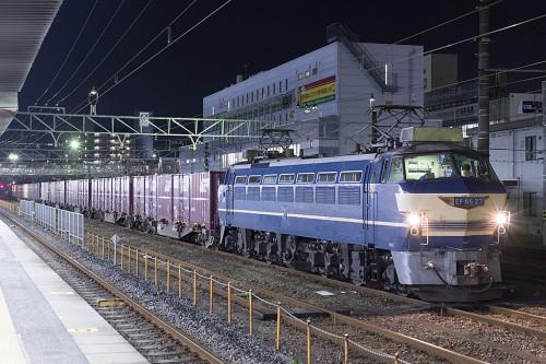 2015.9.3 20:12撮影 4098レ 蘇我駅