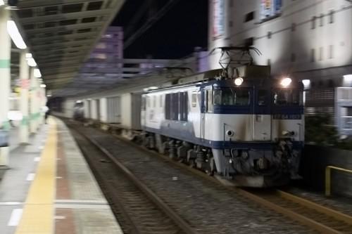 2015.10.2 22:31撮影 5971レ 市川駅