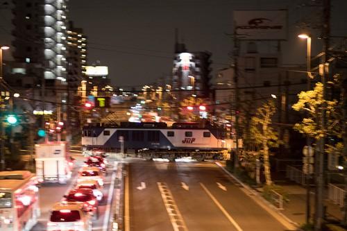 2015.10.23 21:32撮影 5971レ 金町~新小岩(信)間