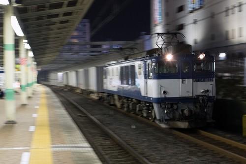 2015.11.2 22:30撮影 5971レ 市川駅