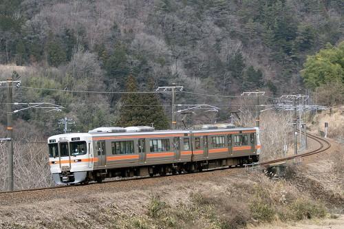 313系 1826M 倉本~須原間