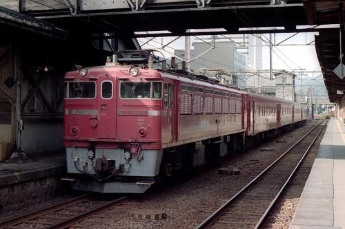 ED76-518 函館本線普通列車 札幌駅