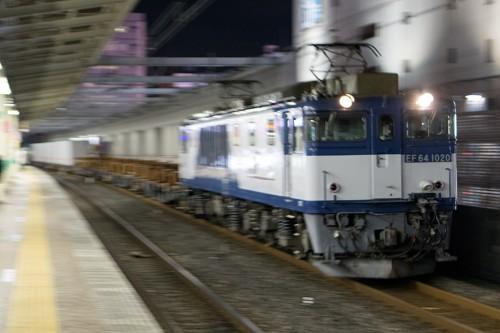 EF64-1020 5971レ 市川駅