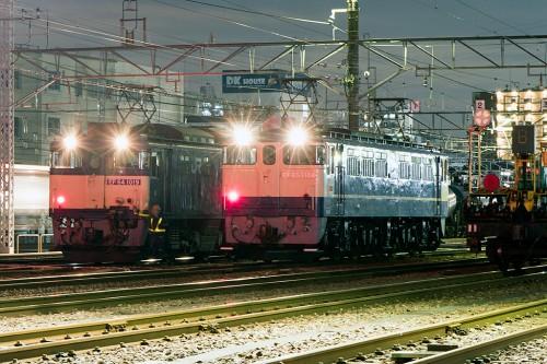 EF64とEF65の並び